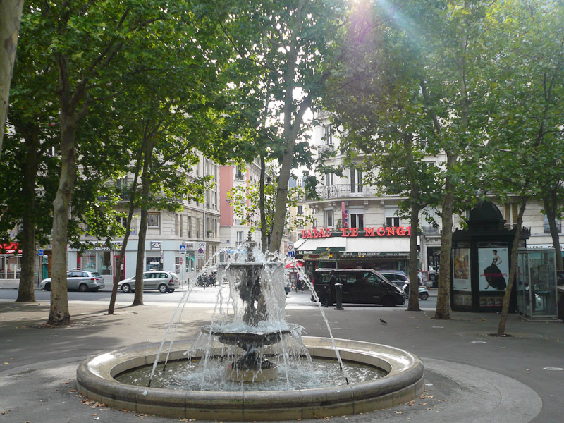 Place-Monge-Fountain